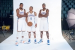 Kevin Durant, Russell Westbrook, Serge Ibaka