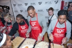 Russell Westbrook feeding the community